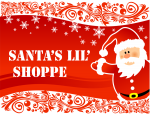 Kids can shop at Santa's Lil' Shoppe