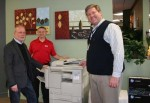 Showplace donates copier and printer